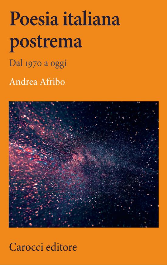 Copertina del libro Poesia italiana postrema