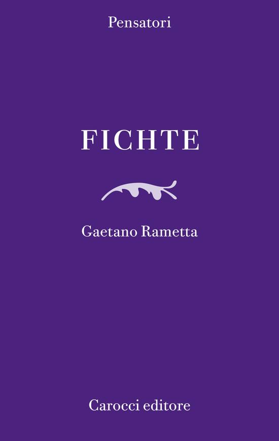Copertina del libro Fichte