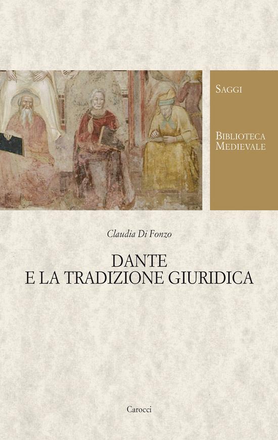 Copertina del libro Dante e la tradizione giuridica